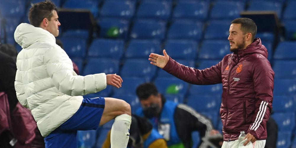 هازار يعتذر من جماهير ريال مدريد بسبب تصرفه بعد الخروج من عصبة الابطال
