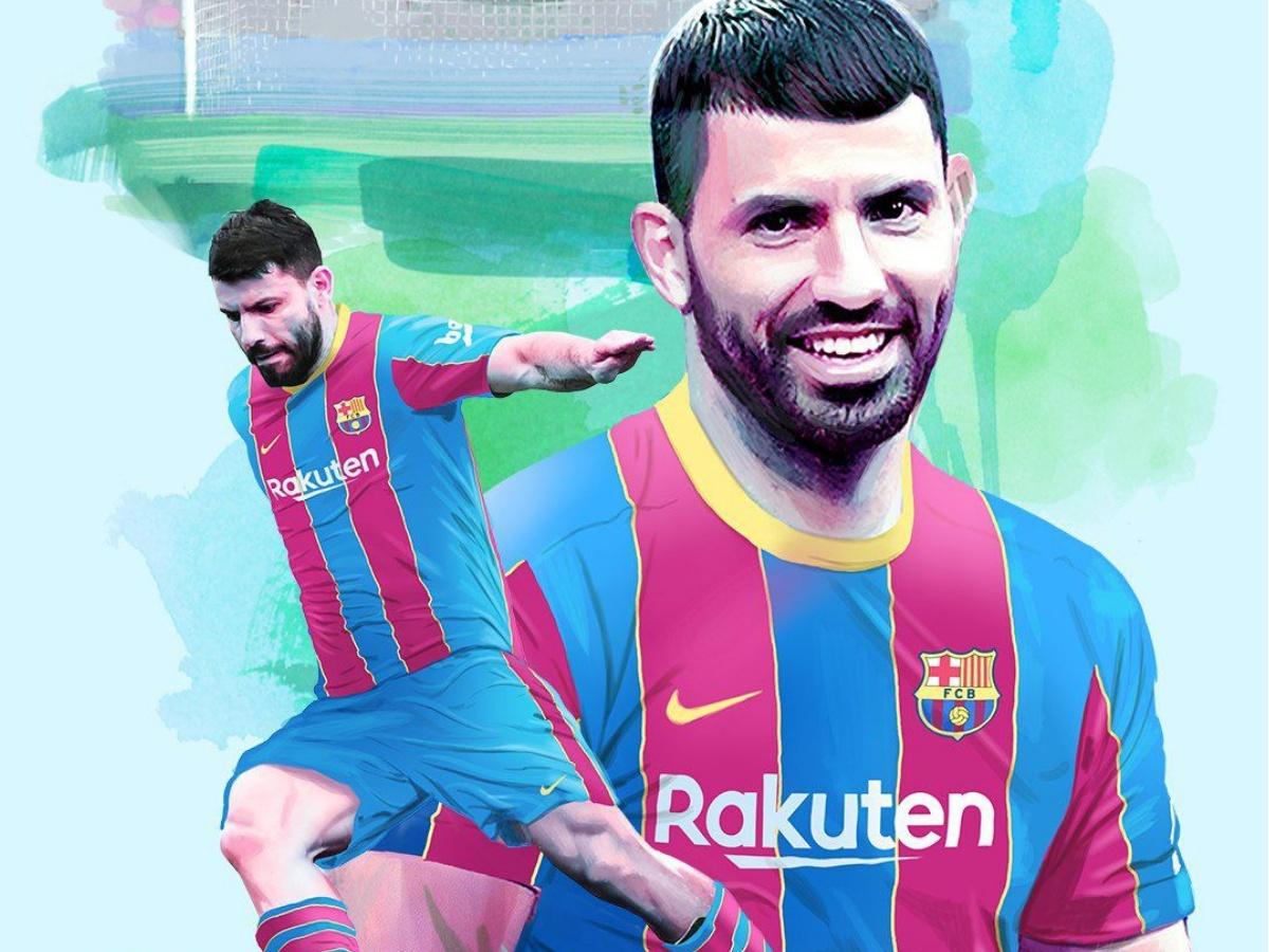 أغويرو بعد انتقاله إلى برشلونة:  إنه النادي الأفضل في العالم