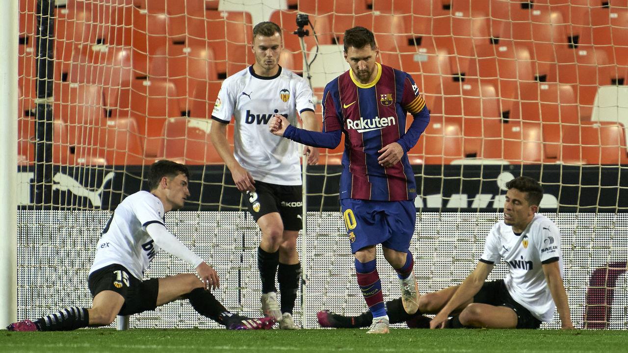 أهداف ميسي هل تكفي برشلونة للظفر باللقب؟