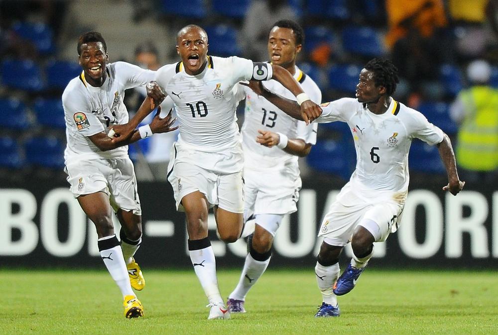 غانا تحضر للرباط بنجومها لمواجهة المنتخب المغربي