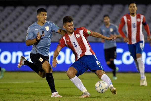 تصفيات أمريكا الجنوبية –قطر 2022 .. التعادل السلبي يحسم المواجهة بين أوروغواي وباراغواي