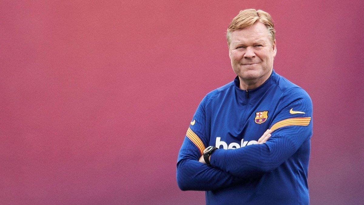 برشلونة حدد موقفه النهائي من كومان؟