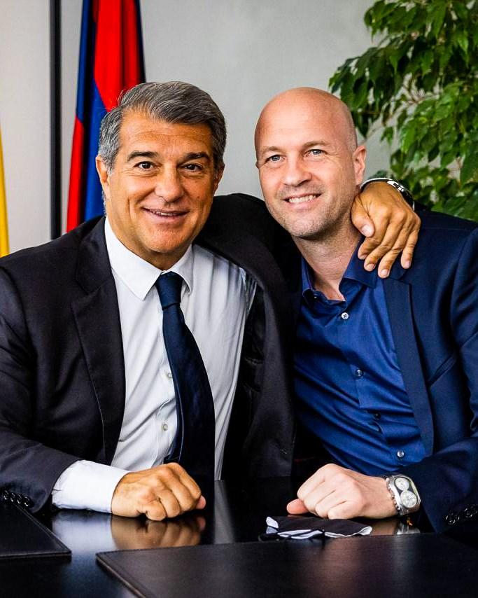 جوردي كرويف ينضم للادارة التقنية لبرشلونة