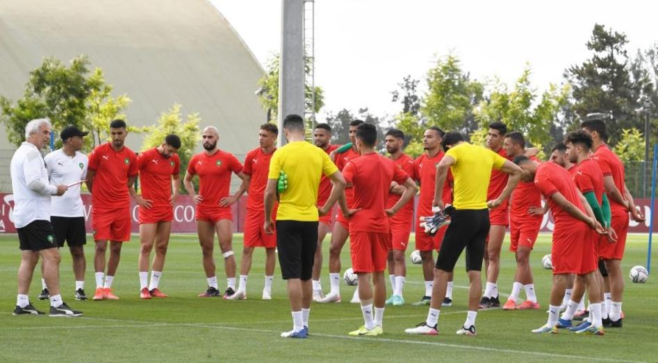 المنتخب المغربي يستفيد من راحة قبل إستئناف التداريب غدا