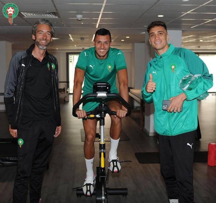 إختبارات طبية دقيقة للاعبي المنتخب المغربي