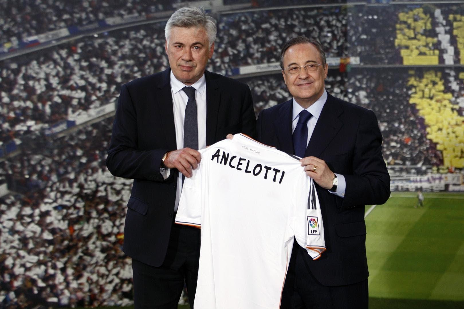كارلو أنشيلوتي يقترب من تدريب ريال مدريد