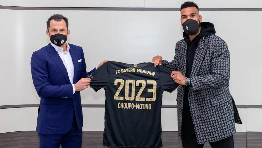 بايرن ميونيخ يمدد عقد مهاجمه الكامروني تشوبو موتينغ
