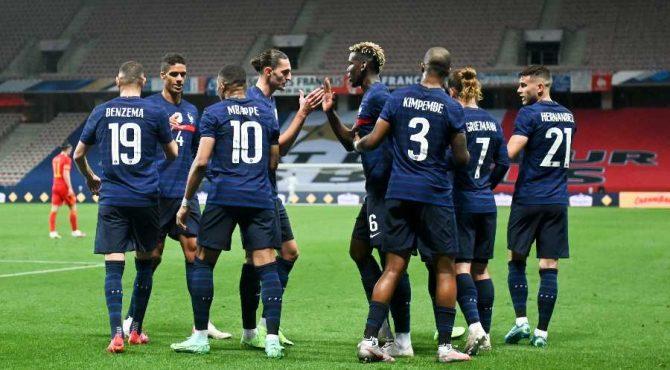 المنتخب الفرنسي ينتزع الفوز في القمة الكروية أمام نظيره الالماني