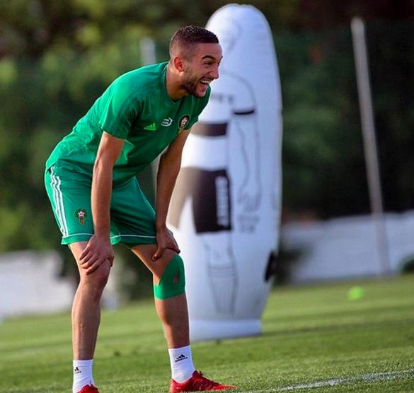 بعد إلتحاق زياش.. المنتخب المغربي يستأنف تداريبه