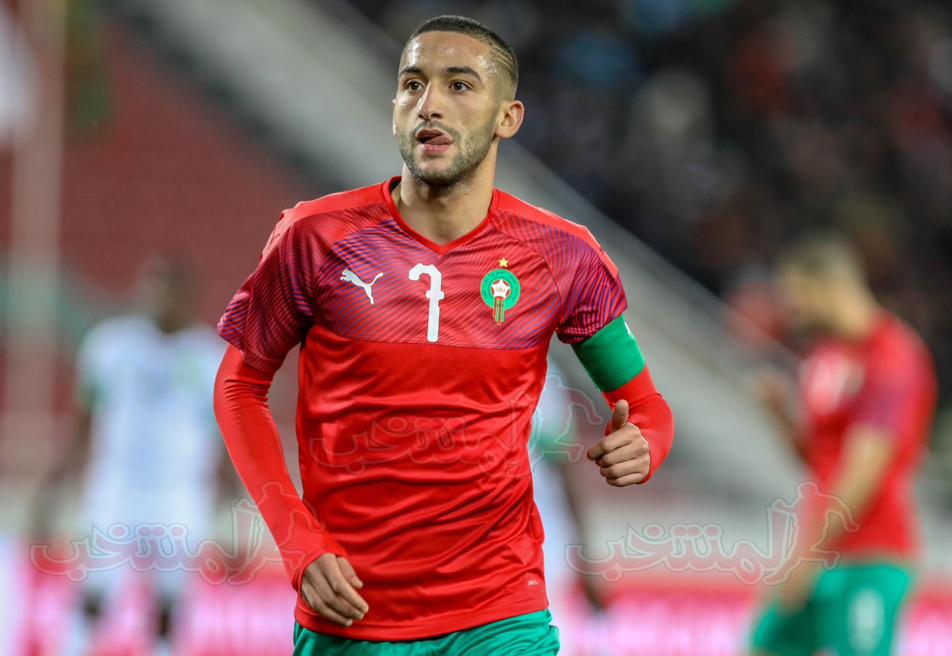 حكيم زياش يغيب عن مباراة غانا
