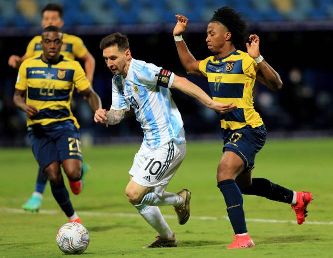 كوبا أمريكا: ميسي يقود الأرجنتين لنصف النهائي