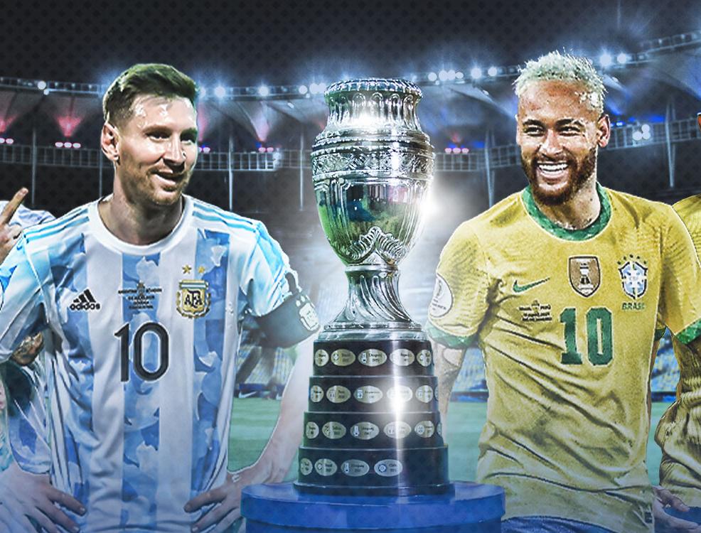 كوبا أمريكا 2021: اختيار ميسي ونيمار كأفضل لاعبي الدورة
