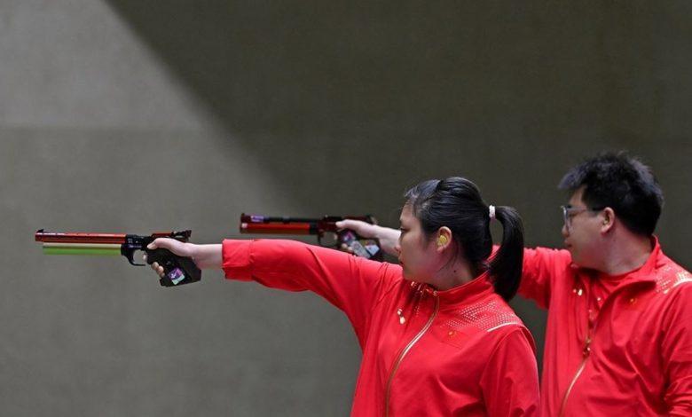 أولمبياد طوكيو-رماية: الصين تحرز ذهبية مسدس هواء مضغوط 10 م في الزوجي المختلط