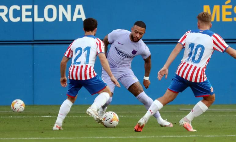 مباراة ودية.. برشلونة يفوز على جيرونا 3-1