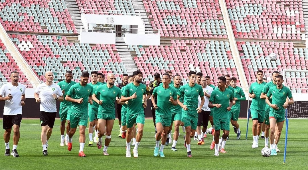 تعرف على برنامج المنتخب المغربي إستعدادا لمواجهة   صقور الجديان