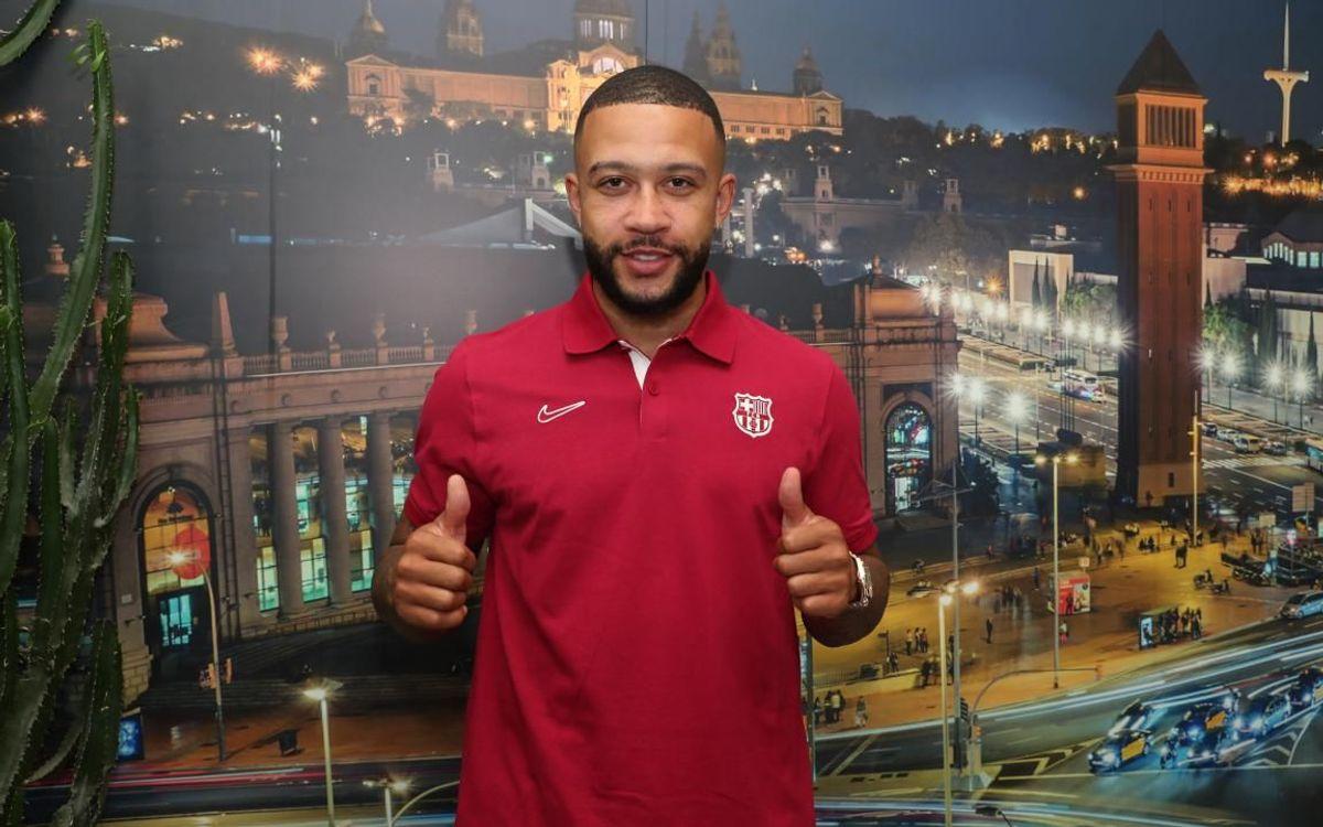 ديباي ينضم غدًا لتدريبات برشلونة