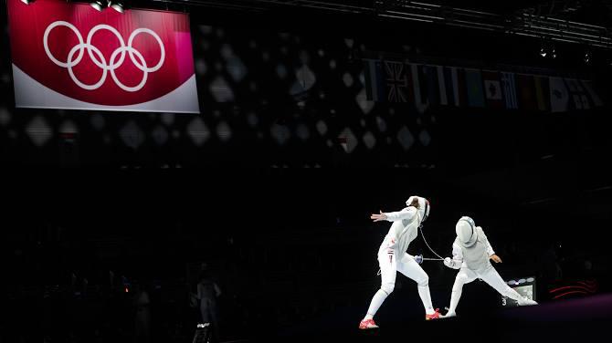 أولمبياد طوكيو- مبارزة: سيدات روسيا يحرزن ذهبية سلاح الشيش