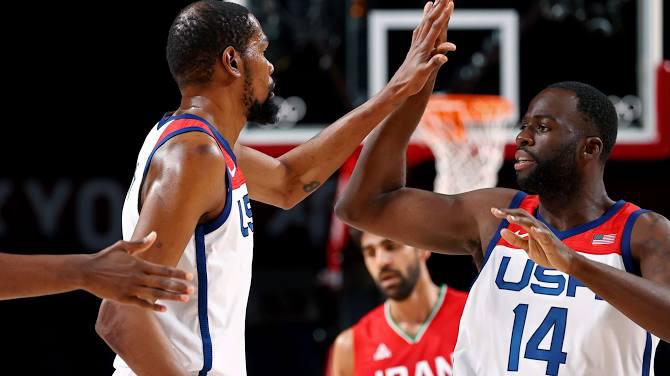 أولمبياد طوكيو (كرة السلة): دورانت  القياسي  يمنح الأميركيين بطاقة ربع النهائي