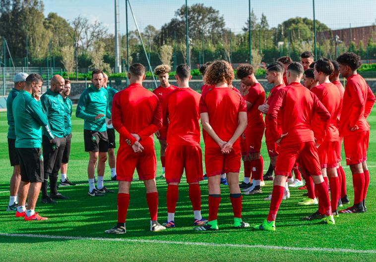 الفتيان يستعدون لكأس العرب برهان المنافسة على اللقب