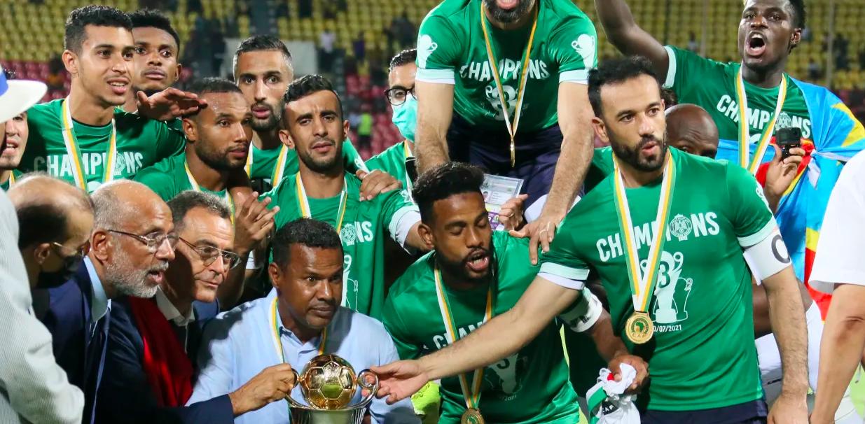 كأس الكونفدرالية الافريقية.. النسور الخضر تحلق عاليا في سماء افريقيا