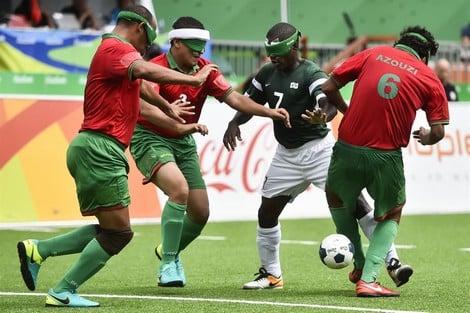 الألعاب الأولمبية الموازية (بارالمبية).. المنتخب المغربي لكرة القدم الخماسية للمكفوفين يتأهل الى دور النصف