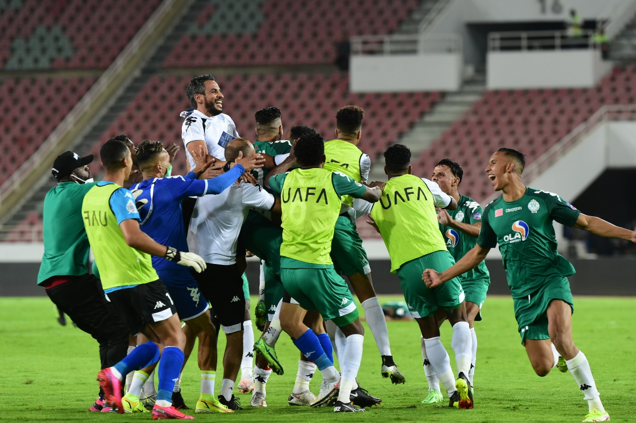 كأس محمد السادس للأندية العربية الأبطال .. مشوار الرجاء إلى التتويج باللقب