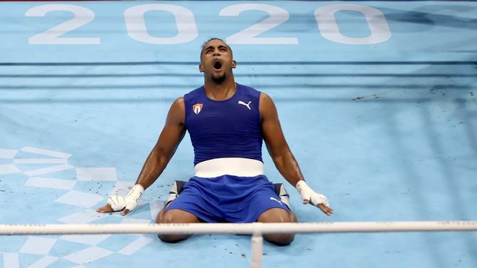 أولمبياد طوكيو (ملاكمة): الكوبي أرلين لوبيز يحرز ذهبية وزن 75-81 كلغ