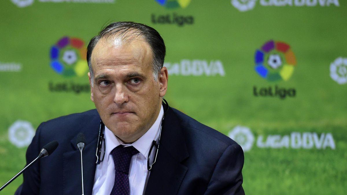 سان جرمان يرد بقوة على الاتهامات  المشينة  لرئيس العصبة الإسبانية لكرة القدم
