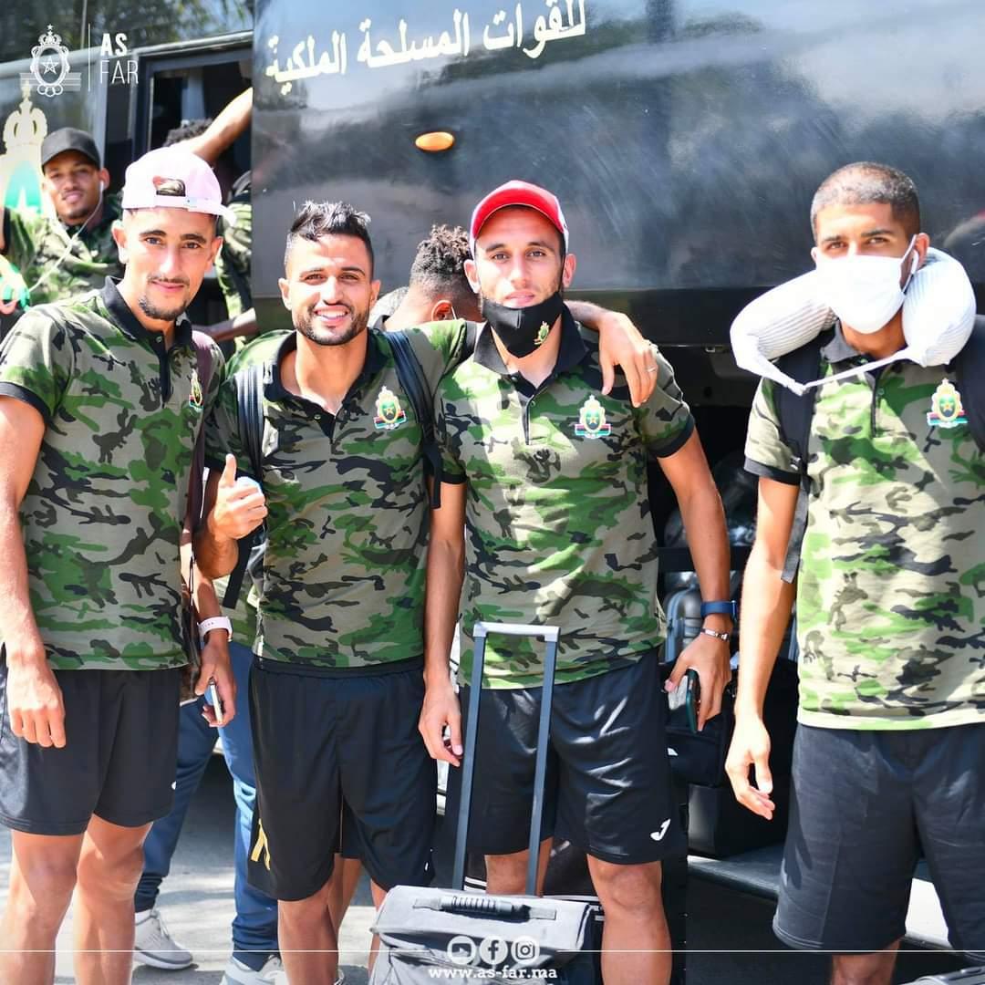 بعثة الجيش تعود للمغرب لمواجهة مولودية وجدة