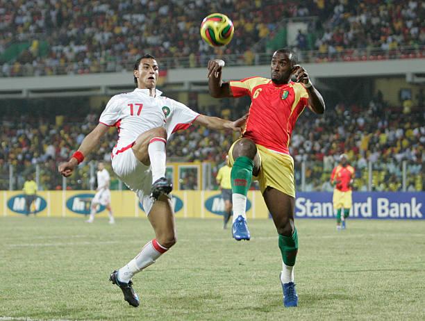 مواجهات عبر التاريخ بين المنتخبين المغربي والغيني