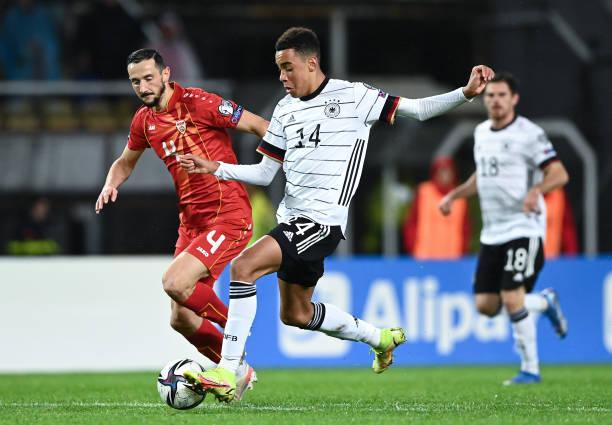 تصفيات مونديال 2022: جمال موسيالا أصغر هداف في صفوف المانشافت منذ 1910