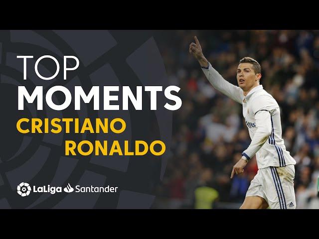 شاهد أجمل أهداف كريستيانو رونالدو في البطولة الاسيانية