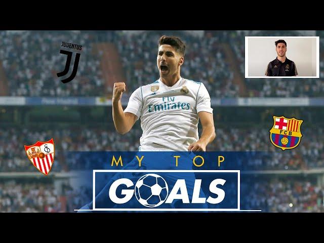 شاهد.. ماركو اسينسيو يختار أجمل أهدافه مع ريال مدريد