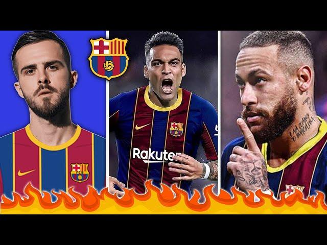 10 لاعبين ممكن أن يتعاقد معهم برشلونة هذا الصيف !