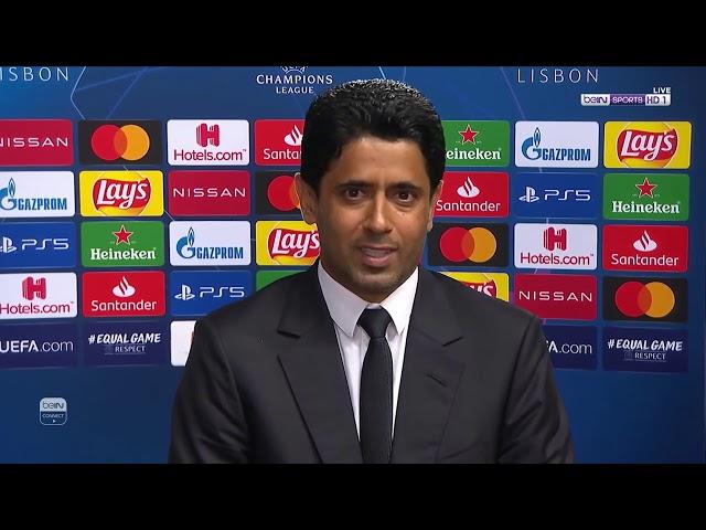 الخليفي: أنا فخور بكل لاعبي باريس سان جيرمان