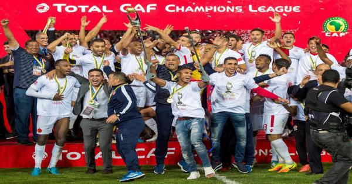سجل الأندية المغربية الفائزة بالألقاب الافريقية