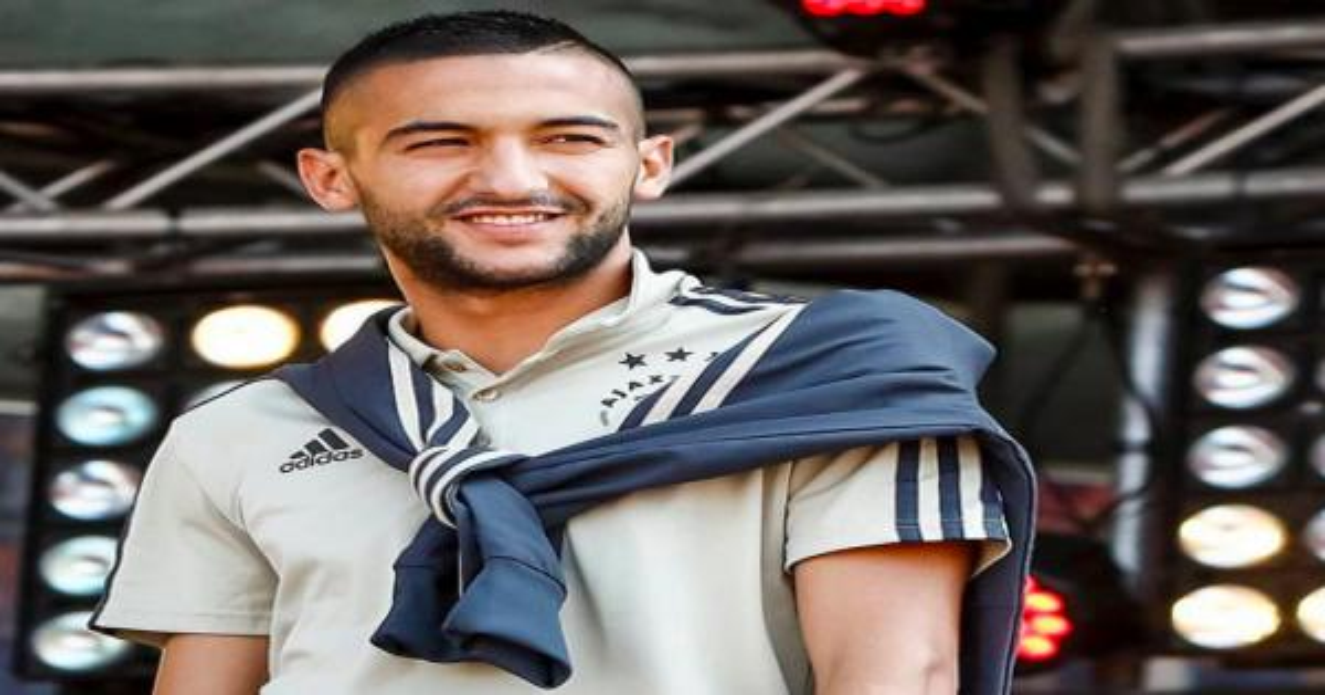 هبة مالية من حكيم  زياش لهذا الفريق المغربي