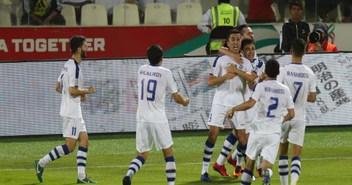 كأس آسيا 2019: أوزبكستان إلى دور الثمن