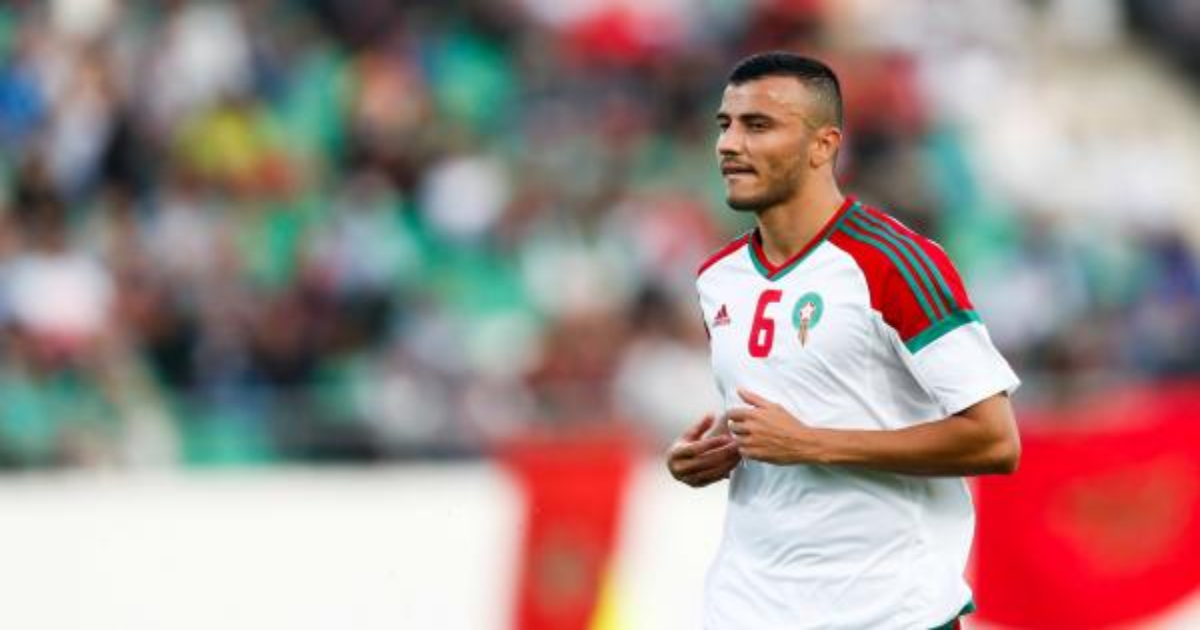 قلب الأسد حاضر مع المنتخب المغربي ضد موريتانيا