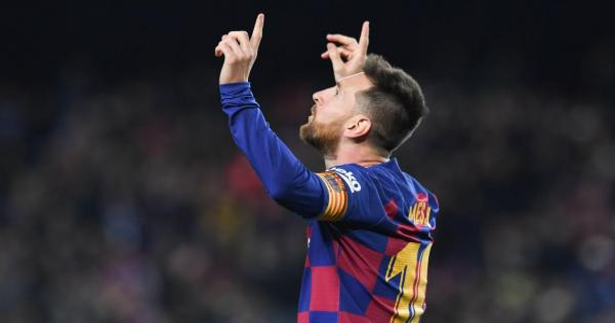برشلونة يفتح ملف تجديد عقد ميسي